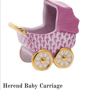 Herend Baby Buggy